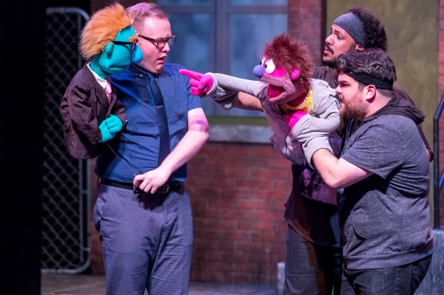 Mercury's Avenue Q '18 (Brett A. Beiner) - Christian Siebert (Rod), Jonah D. Winston and Dan Smeriglio (Nicky)